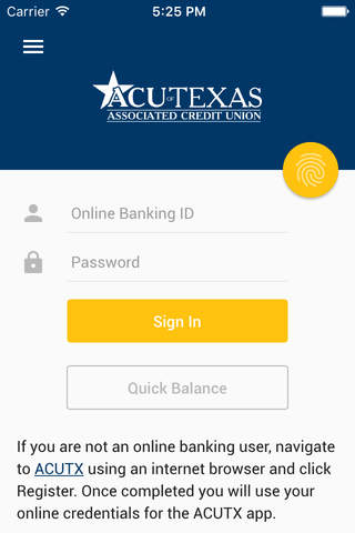 Associated Credit Union of Texas - náhled