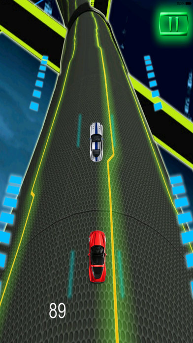 A Extreme Race Neon Pro - Amazing Speed Light Car screenshot 5