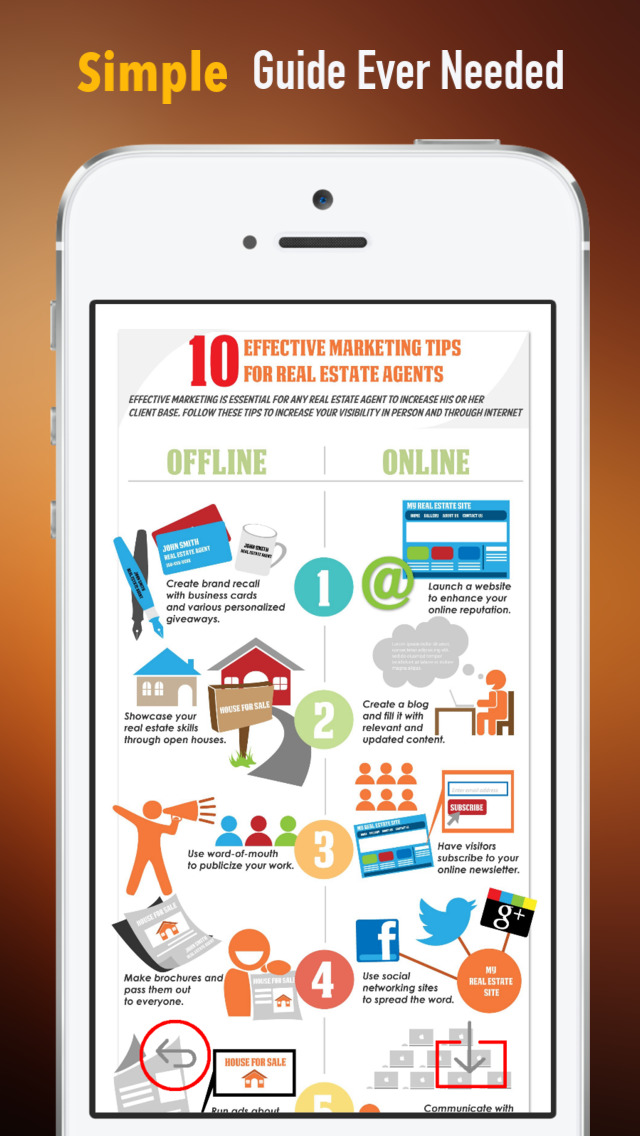 Real Estate Marketing:Realtors and Winner Tips screenshot 2