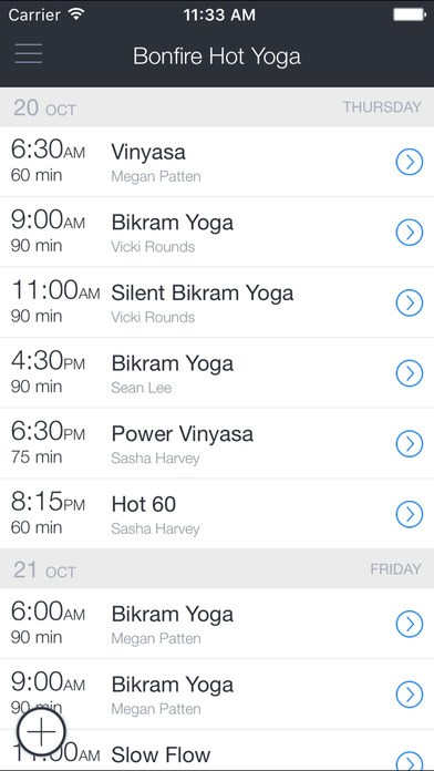 Bonfire Yoga screenshot 1