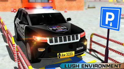Charismas Police Car Park : Real Stunt Car Drive screenshot 3