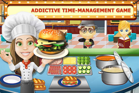 Fast Food Frenzy: Master Kitchen Chef Sandwich Coo - náhled