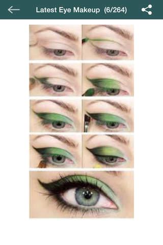 Latest Eye Makeup (Step by Step) - náhled