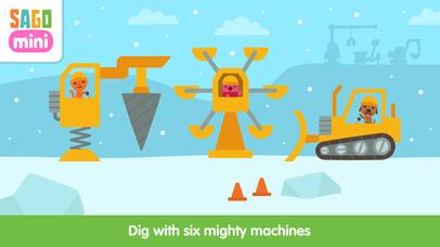 Sago Mini Holiday Trucks and Diggers screenshot 3