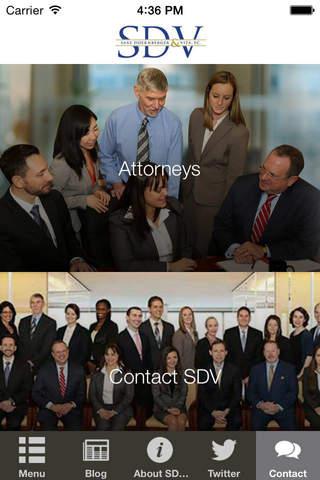 SDV Law - náhled