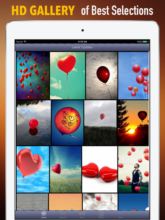 Red Balloon Wallpapers HD- Quotes and Photography screenshot 6