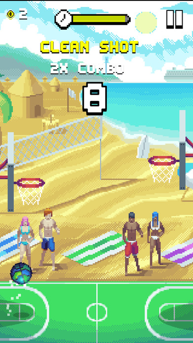 Bouncy Hoops screenshot 2