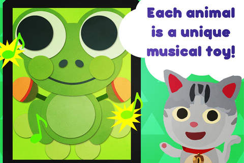 Animal sound box – learn music with cute animals – - náhled
