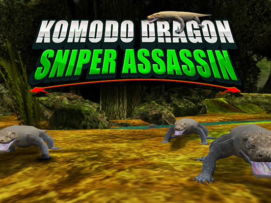 Komodo Dragon Sniper Hunter - Jungle Reptile Hunting