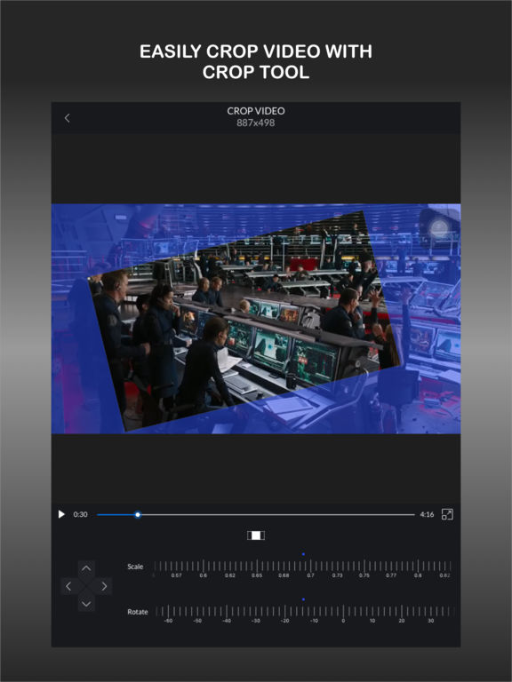 CrVid - Great video editor! screenshot 7