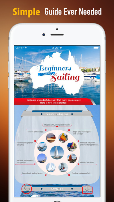 Sailing Lessons 101:Beginners Guide and Tutorial screenshot 2