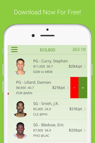 Daily Fantasy Basketball Lineup Optimizer Free - O - náhled