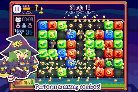 Magic Cats - Match 3 Puzzle Game with Pet Kittens - náhled