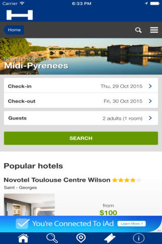 Midi-Pyrénées Hotels + Compare and Booking Hotel f - náhled