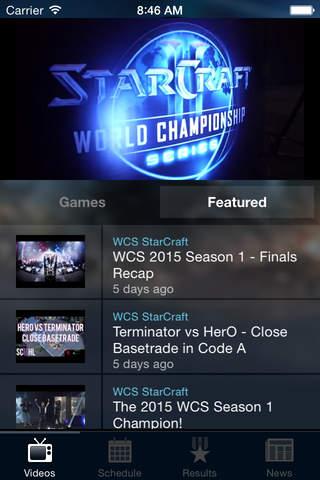 Blizzard WCS - náhled