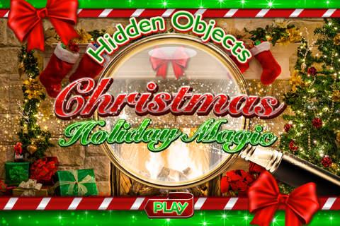 Hidden Objects - Christmas Holiday Magic Celebrati - náhled