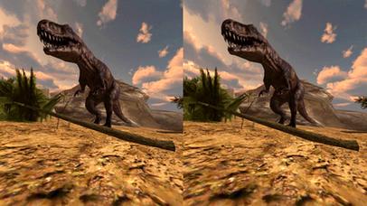 VR Jurassic Land Tour Cardboard Game screenshot 3
