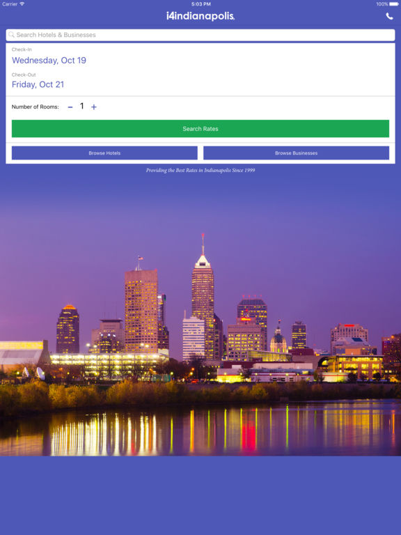 i4indianapolis - Indianapolis Hotels, Yellow Pages screenshot 6