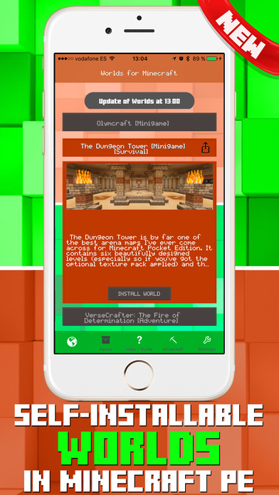 Add-ons for Minecraft PE - Self-installing addons screenshot 1