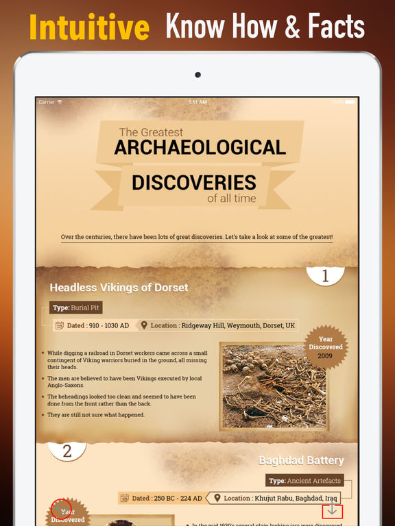 Archaeology Classes: Glossary and Video Lessons screenshot 6
