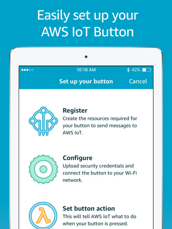 AWS IoT Button Dev screenshot 6