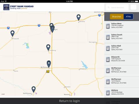 First Bank Kansas eZBanking - náhled