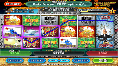 MEGA Money Vegas Slots screenshot 1