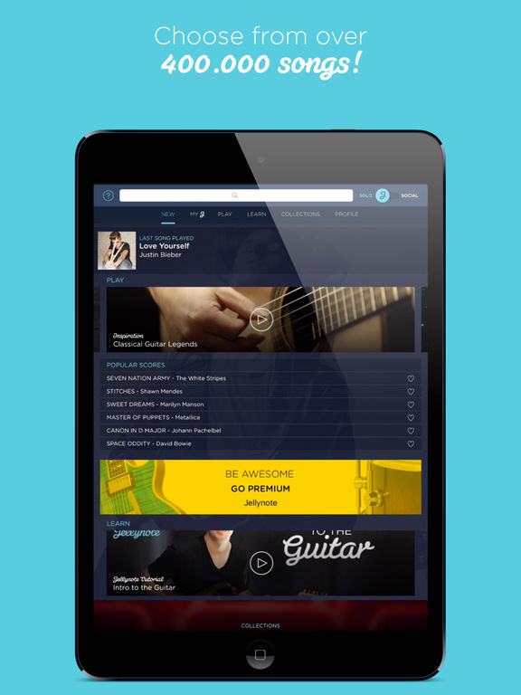Guitar jellynote guitar tabs : Jellynote on the App Store