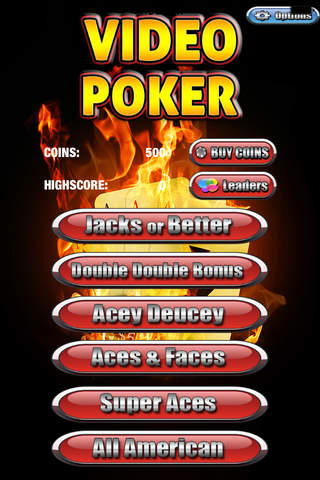 Aces On Fire Max Bet Double Double Bonus Video Pok - náhled