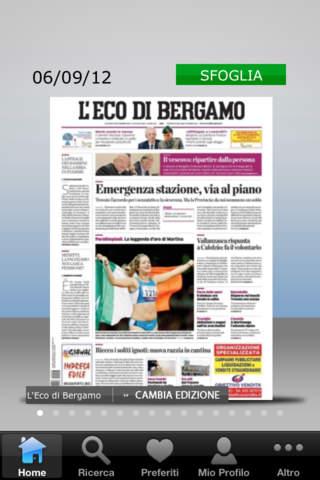 L'Eco di Bergamo Edicola Digitale - náhled