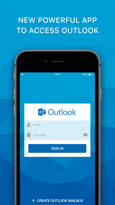 hotmail app for iphone email app for outlook by craigpark limited 9468