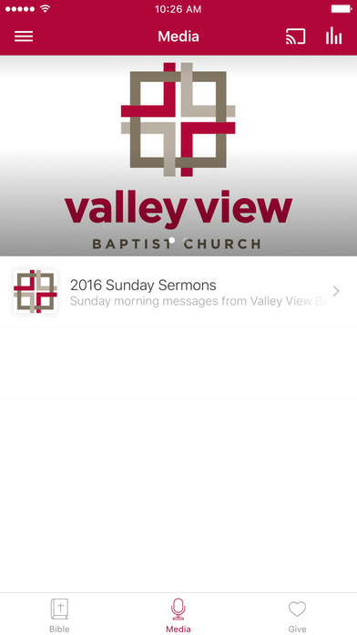 Valley View Baptist Mobile App screenshot 2