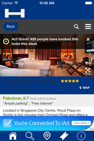 Reims Hotels + Compare and Booking Hotel for Tonig - náhled