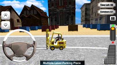 Forklifter Simulator 2016 : Container Cargo Lifter screenshot 1