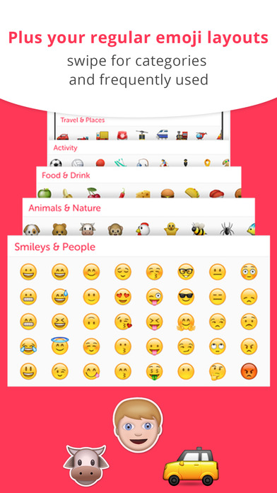 Emoji KeyBoard for Whatsapp Messenger,for iMessage screenshot 5