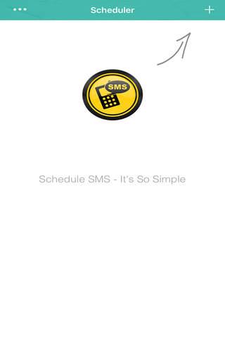 SMS Scheduler ™ - náhled