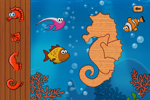 Ocean and Sea Animal puzzles and Games for toddler - náhled