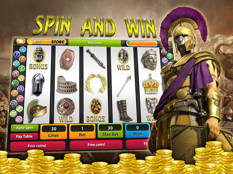 Caesars Slot Machines: Rise of Roman Empire. Play  - náhled