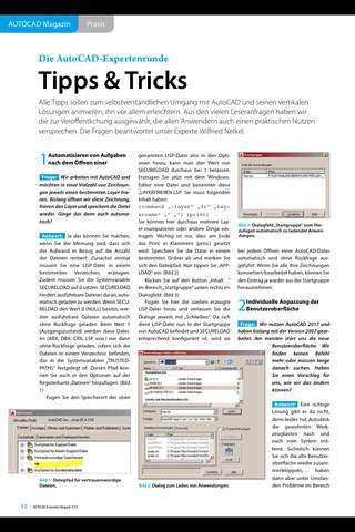 AUTOCAD & Inventor Magazin - náhled