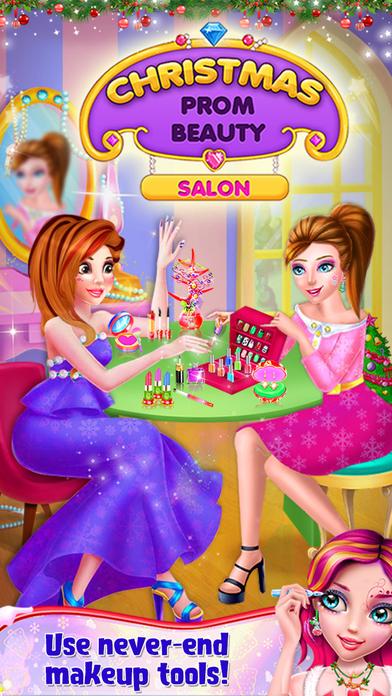 Christmas Prom Beauty Salon screenshot 1