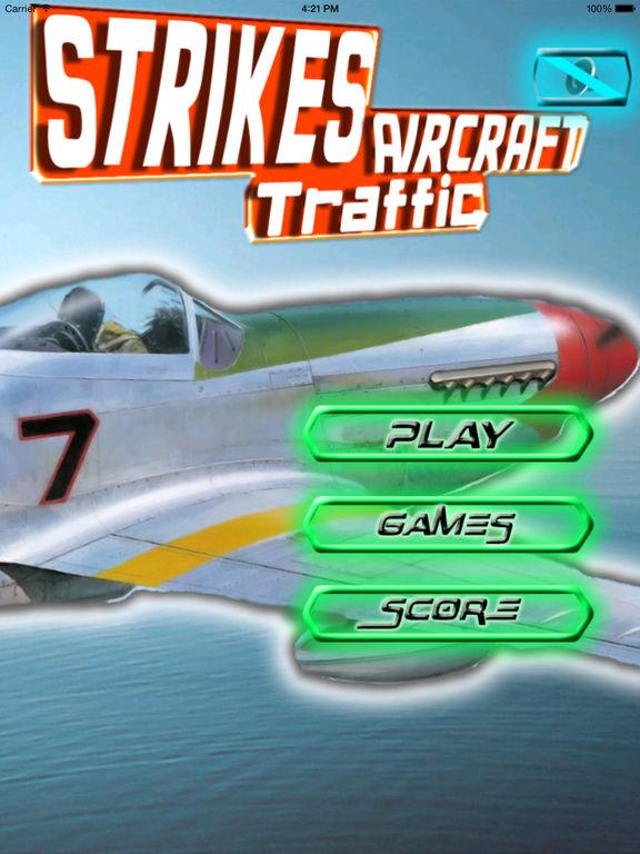 Strikes Aircraft Traffic - Airborne Adventure screenshot 6