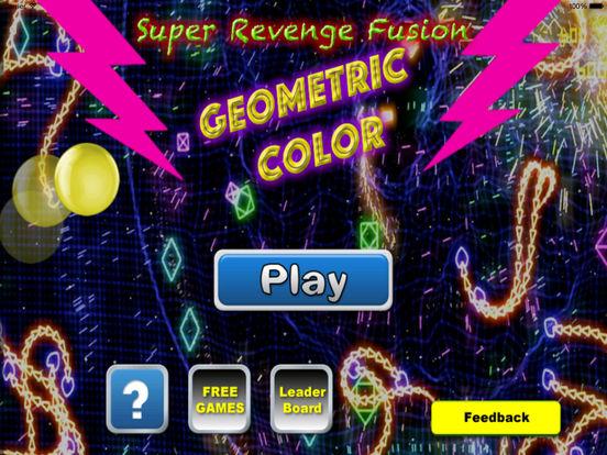 Super Revenge Fusion Geometric Color - True Geometric War Is About To Begin screenshot 6