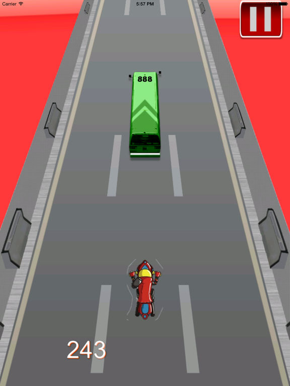 Big Fast Race Child - Crazy Game Road Bike screenshot 10