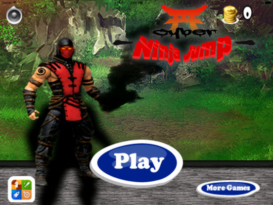Cyber Ninja Jump Pro - Race of Mobile Androids screenshot 6