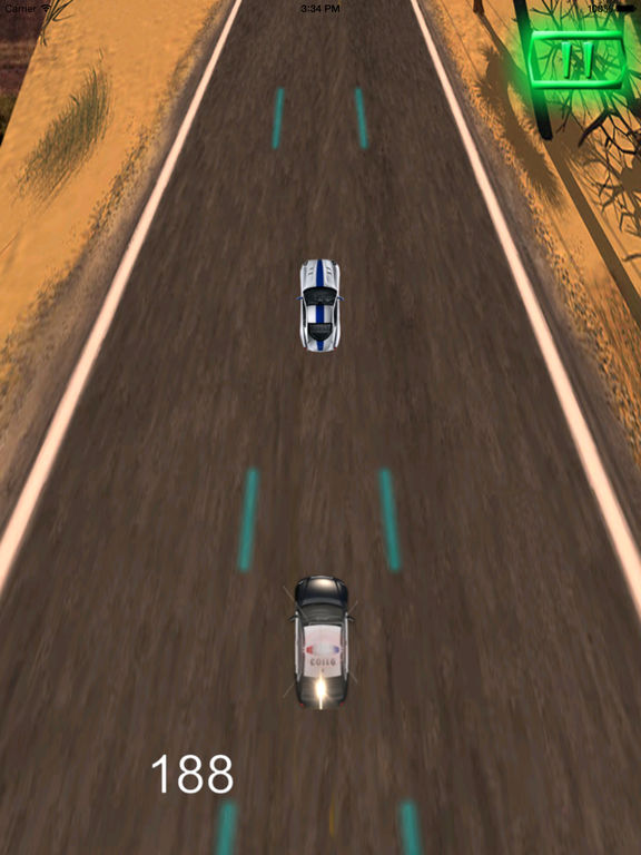 A Driving Fast Police Pro - Racing Hovercar Game screenshot 8