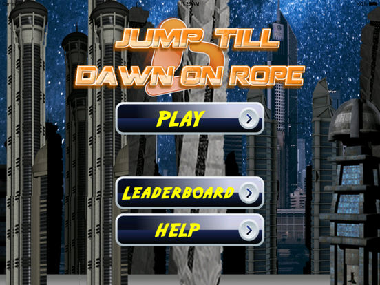 A Jump Till Dawn On Rope Pro - Extreme Swing Game screenshot 6