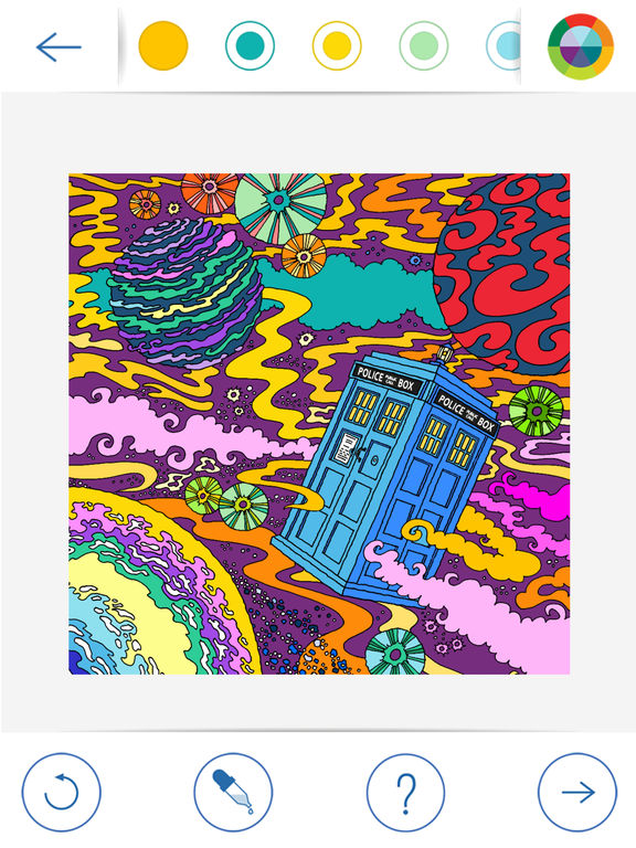BBC Colouring: Doctor Who screenshot 7