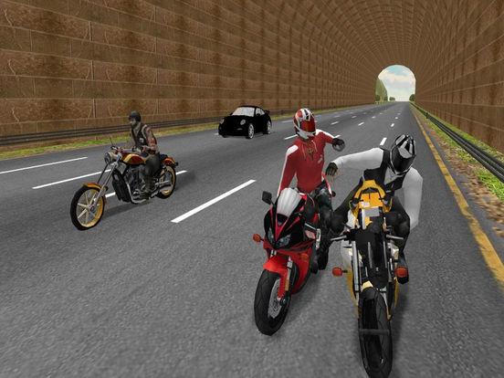 Moto Bike Road Rush : Figh-t Atta-ck Race 3d screenshot 5