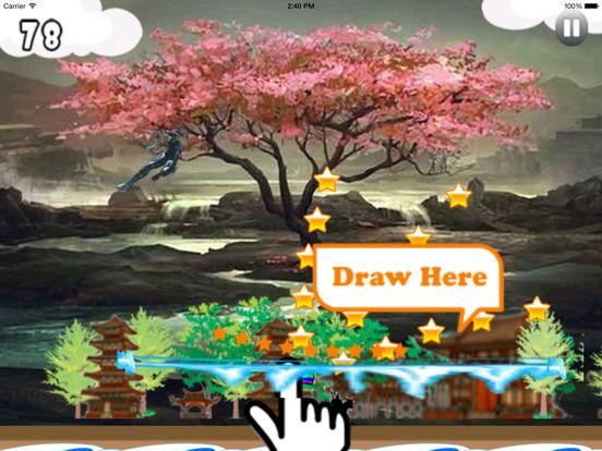 Clan Dark Jumping Pro - Samurai Adventure Game screenshot 7