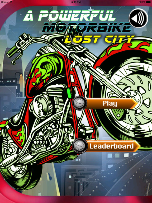 A Powerful Motorbike Lost City - Game Bike Extreme And Crazy screenshot 6